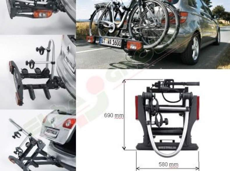 25590 Fahrradträger BC60 Anhängerkupplung