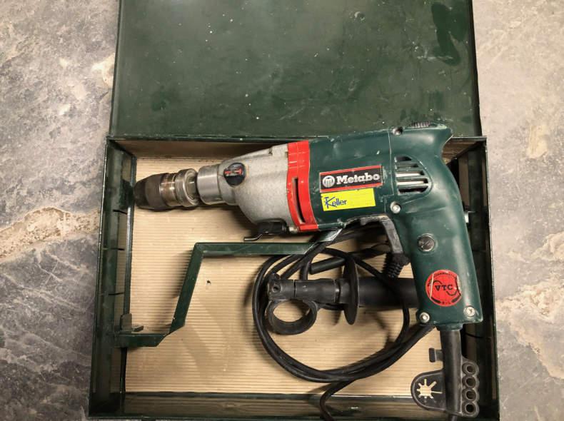 25902 Schlagbohrmaschine METABO 1010 Watt