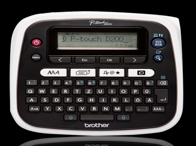 2743 Brother P-touch D200