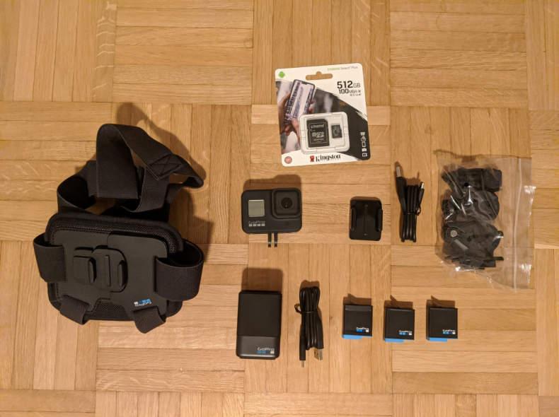 26135 GoPro Hero 8 + 3 Akkus + 512GB + ..