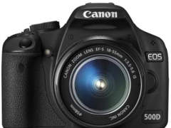 26208 Canon EOS 500D inkl. Speicherkarte