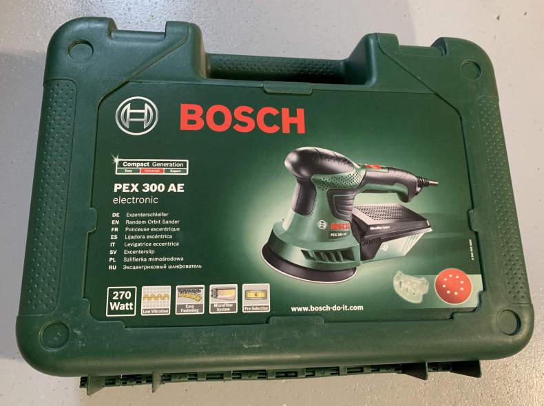 26376 Exzenterschleifer Bosch PEX 300 AE