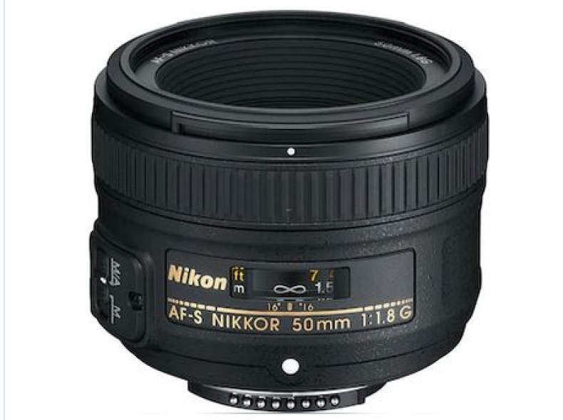 26387 Nikkor 50 mm, 1.8 G, Nikon 50 mm