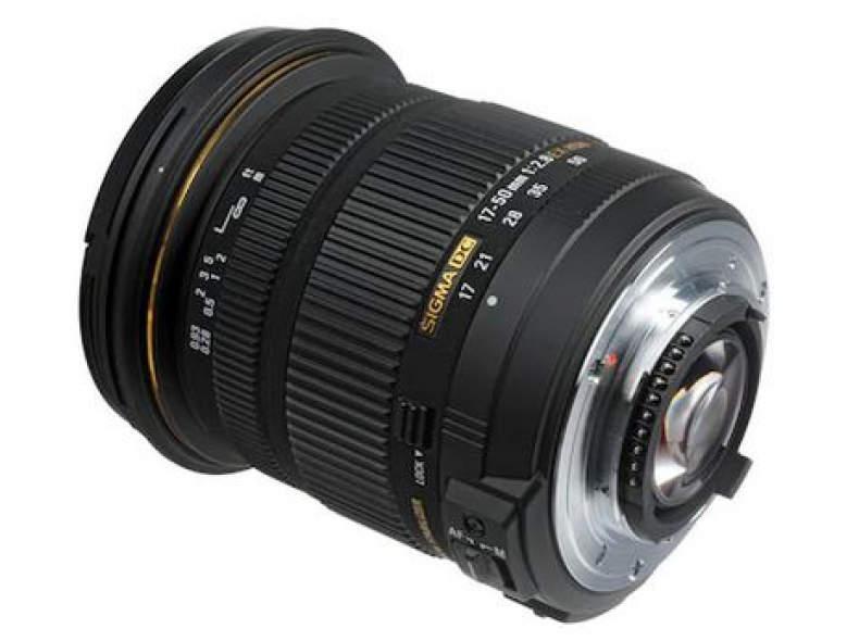26388 Sigma 17-50mm, f/2.8, Nikon