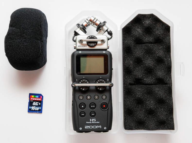 26467 ZOOM H5 4-Kanal Handy Recorder