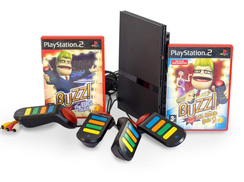 26479 Sony PlayStation 2, Buzz!