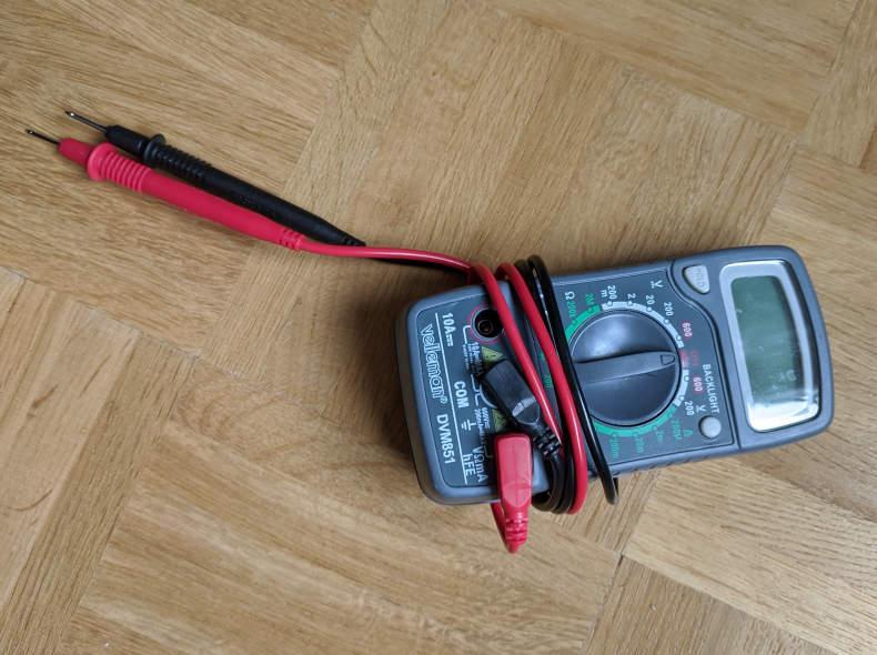 26559 Multimeter (Voltmeter)