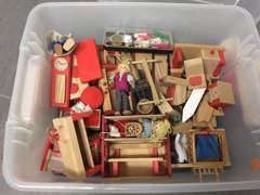 26562 Puppenhaus vollständig eingerichtet
