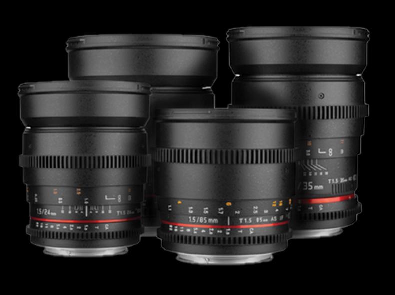 26570 Objektivsatz Rokinon Cine Lens DS