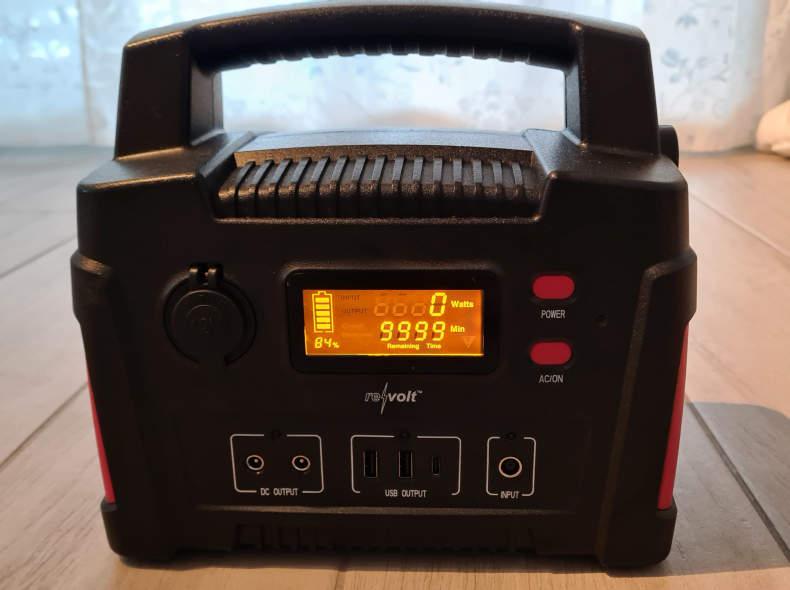 26728 Powerpack ReVolt 114Ah + 110W Solar