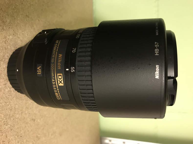 26811 Nikon Objektiv DX 55-300 mm 1:4.5-6