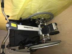 26814 Rollstuhl, Brems- und Schiebehilfe