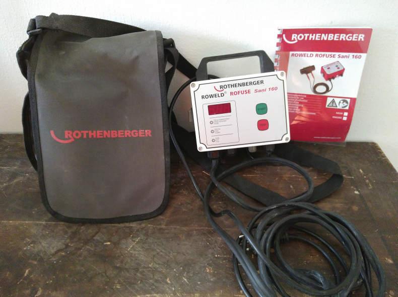27050 Elektromuffen Schweissgerät für PE
