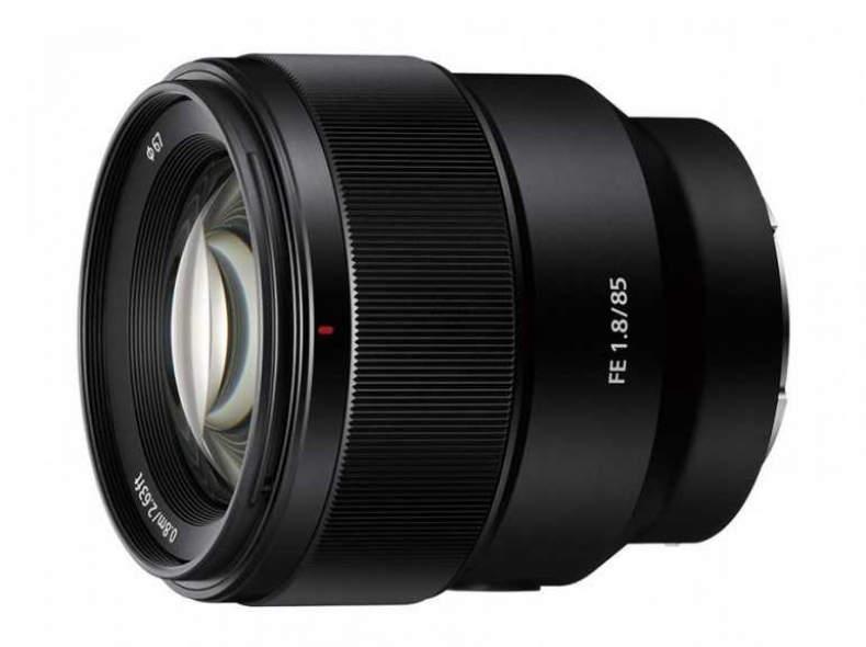 27075 Sony FE 85mm 1.8, Full Fr, E-Mount