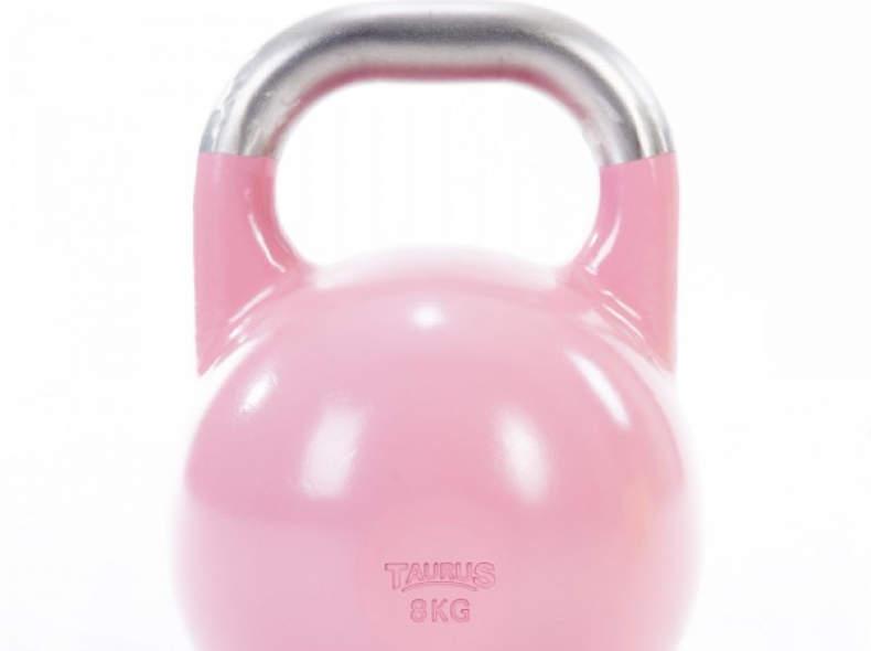 27107 1 Kettlebell 8kg (pink)