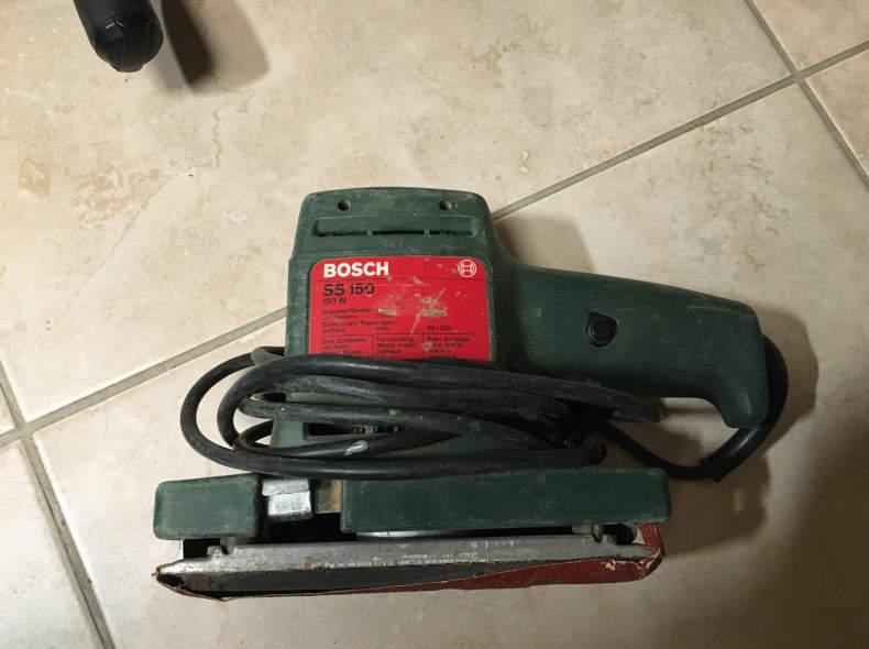 27165 Bosch Schleifmaschine