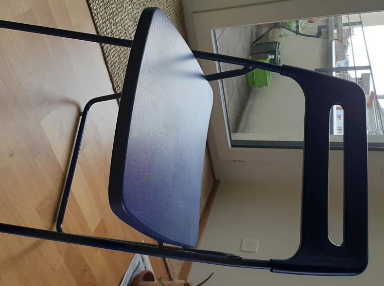 27184 Ikea Klappstühle 2 x blau