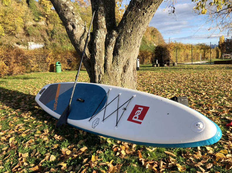27191 Red Paddle SUP Board 12'6 110kg+