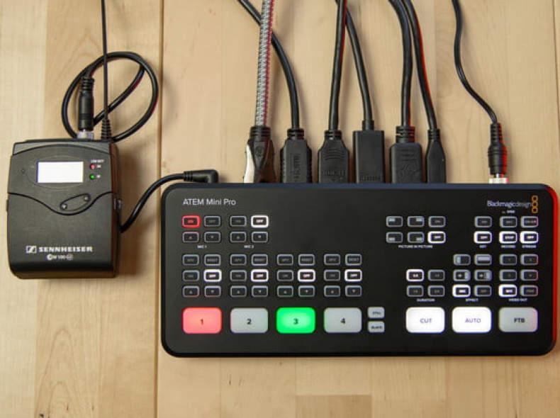 27220 Blackmagic ATEM Mini pro - Live AV