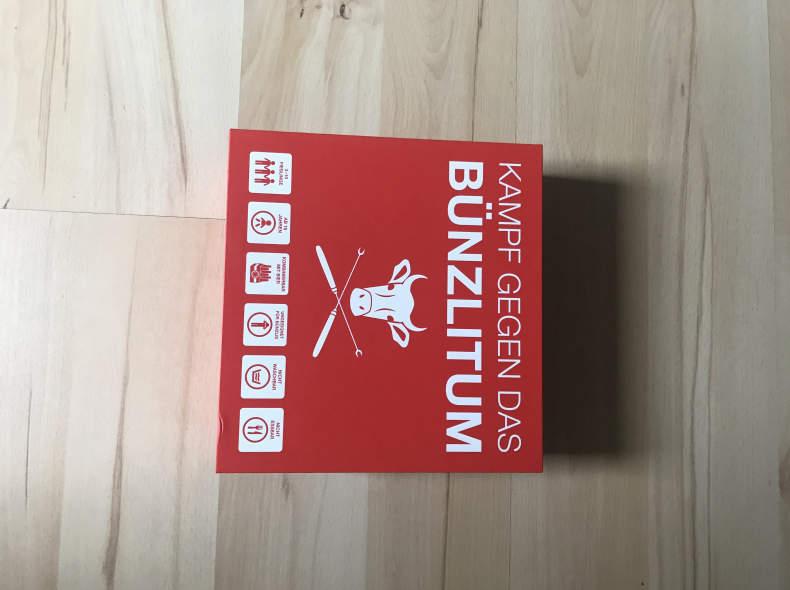 """27235 Spiel """"Kampf gegen das Bünzlitum"""""""