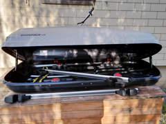 27263 Dachbox 400l mit Dachträger
