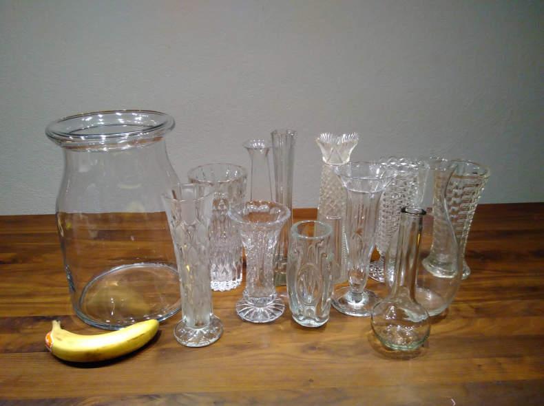 27417 Vasen, hoch, mind. 12 Stück