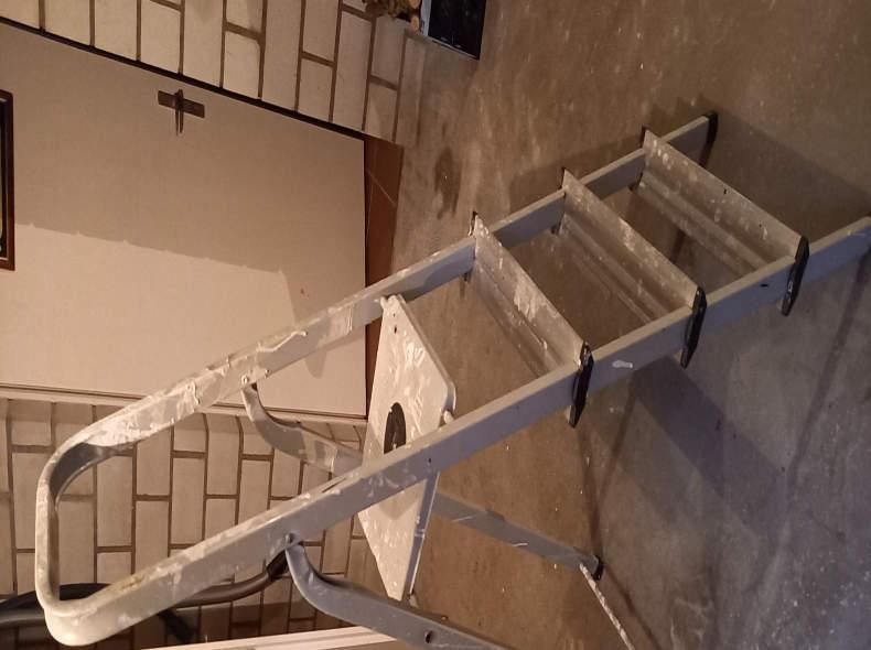 27454 Leiter mit 4 Sprossen (145cm)