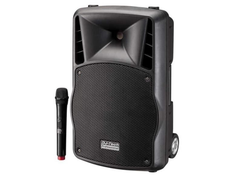 27457 Aktivlautsprecher PA-Box & Mikrofon