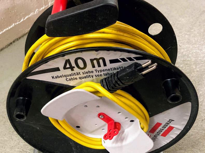 27596 Kabelrolle 40 Meter