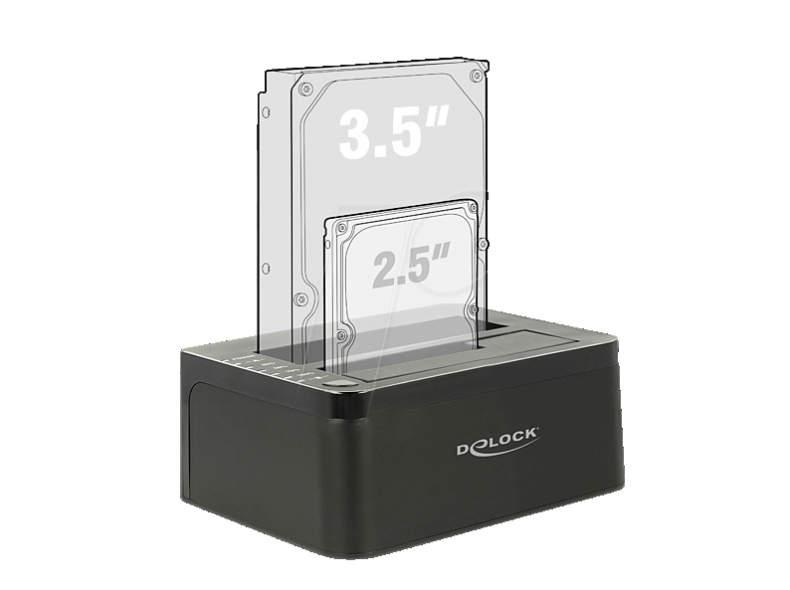 27609 DeLock HDD Dual Docking Station