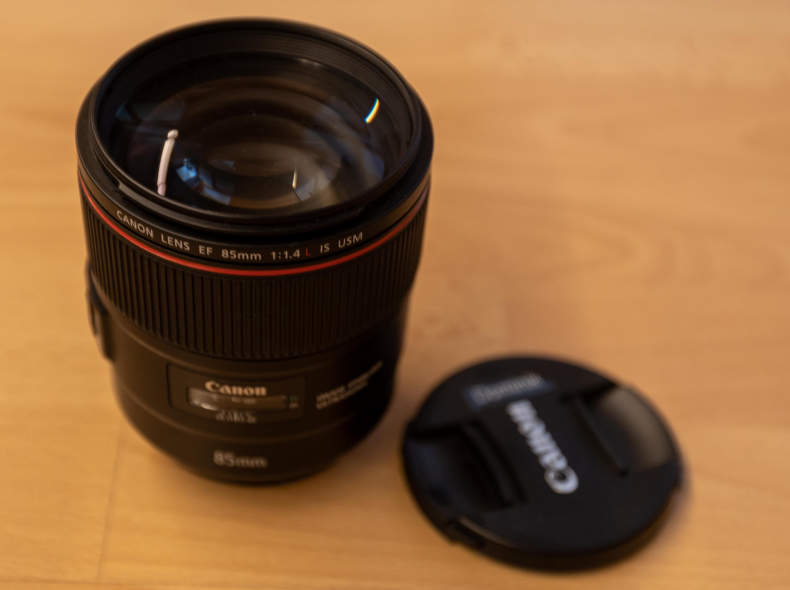27614 Canon EF 85mm f/1.4 L IS USM