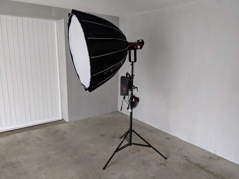 27684 Aputure LS C300D II Kit, Videolicht