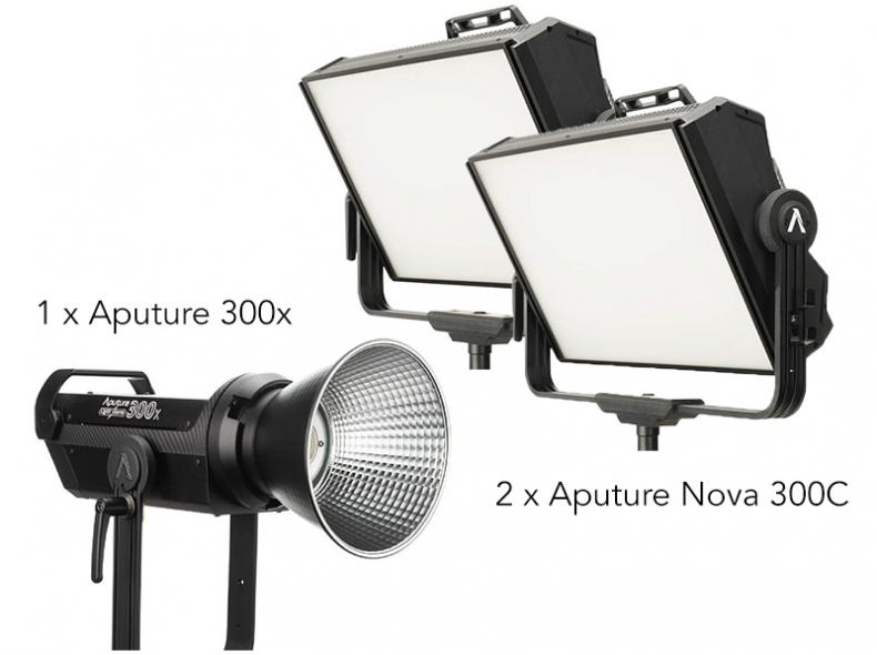 27810 Aputure Set Licht