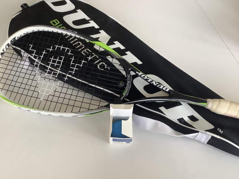 27889 Squash Racket Dunlop Biomimetic 2x