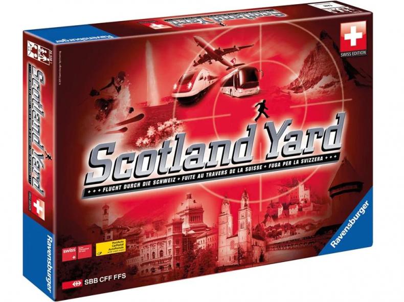 28194 Brettspiel Scotland Yard Schweiz
