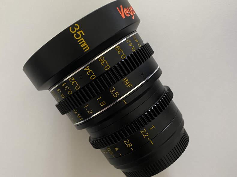 28236 Veydra 35mm Cine Prime Objektiv