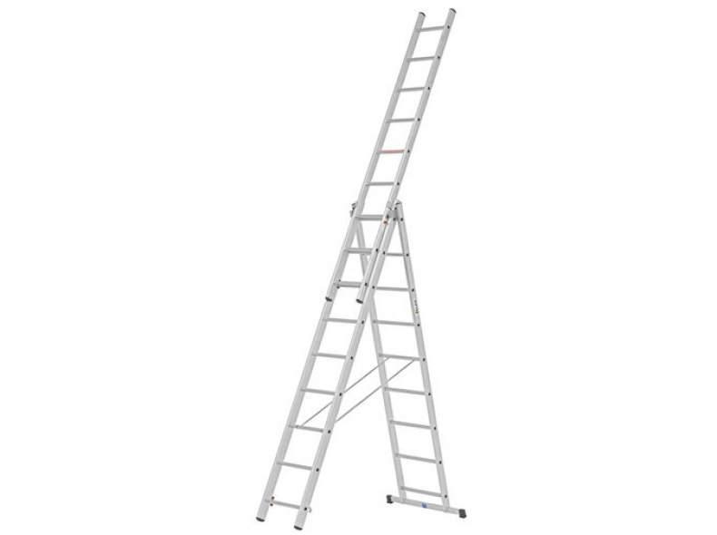 28256 Mehrzweck Leiter dreiteilig 3 x 9