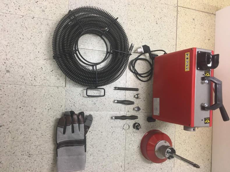28258 Rohrreinigungsmaschine für Küche/WC