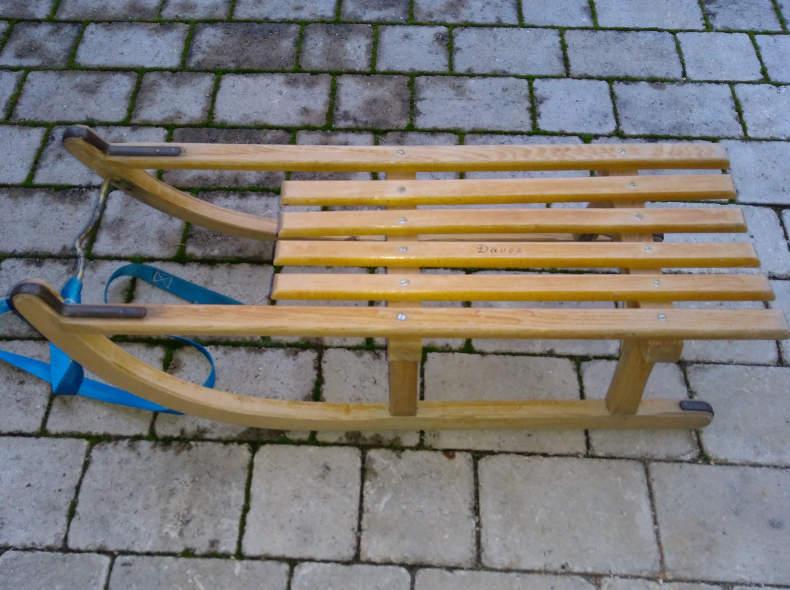 28404 Schlitten Davoser 80cm Nr. 1