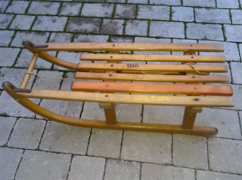 28405 Schlitten Davoser 80cm Nr. 2