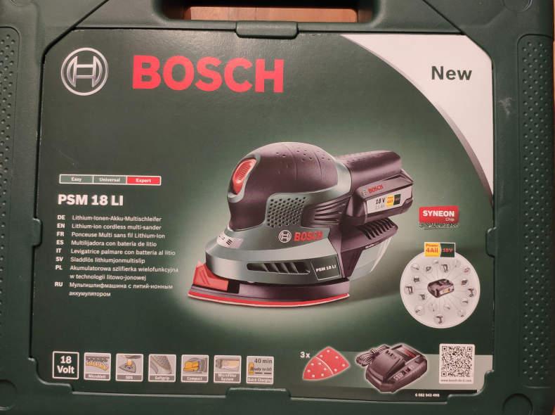 28477 Schleifgerät Bosch Akku betrieben