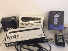 28632 Rode NTG2 Richtmikrofon mit alles