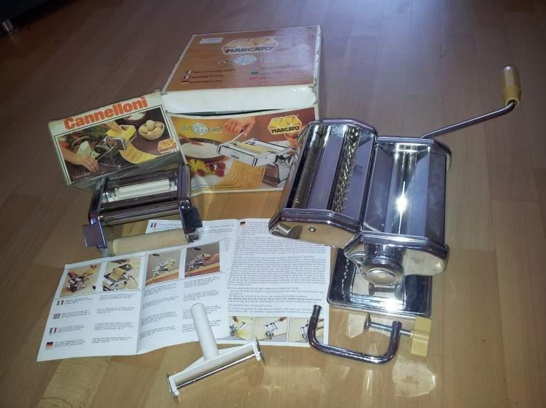 3018 Pastamaschine + Cannelloni-Aufsatz