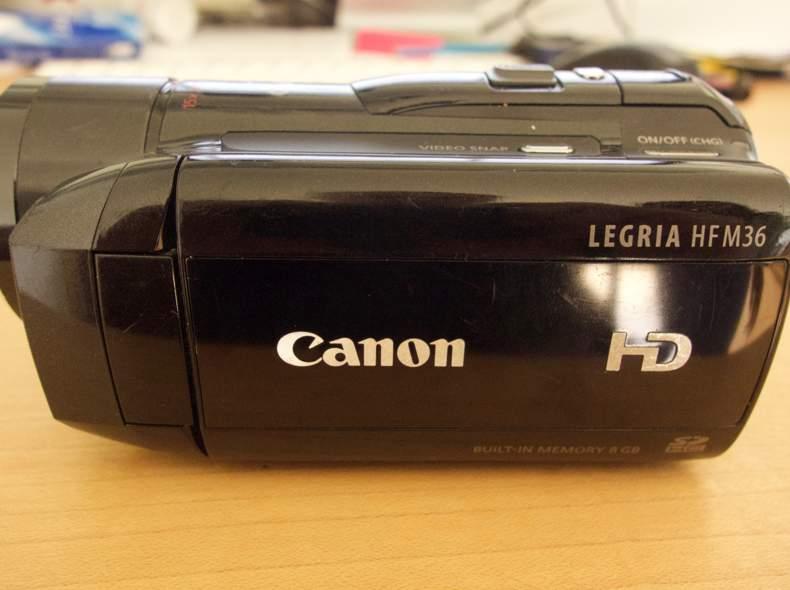 3028 Canon HD Videocamera Legria HF M 36