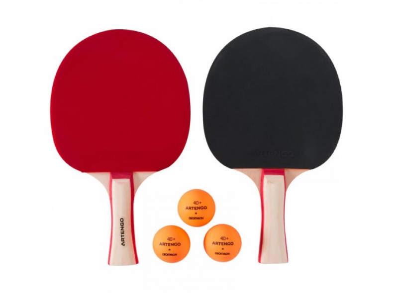 28920 Tischtennisschläger mit Ball