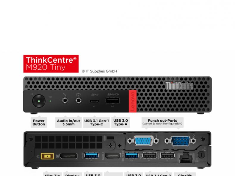 28955 Desktop PC ThinkCentre m920q