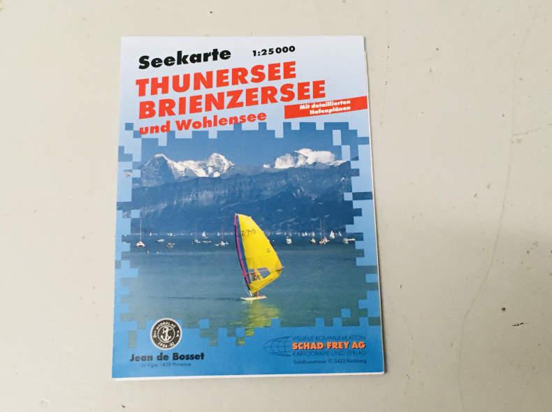 29077 Seekarte Brienzer- und Thunersee