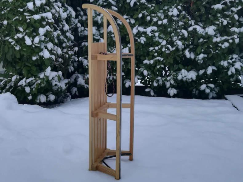 29254 Schlitten aus Holz