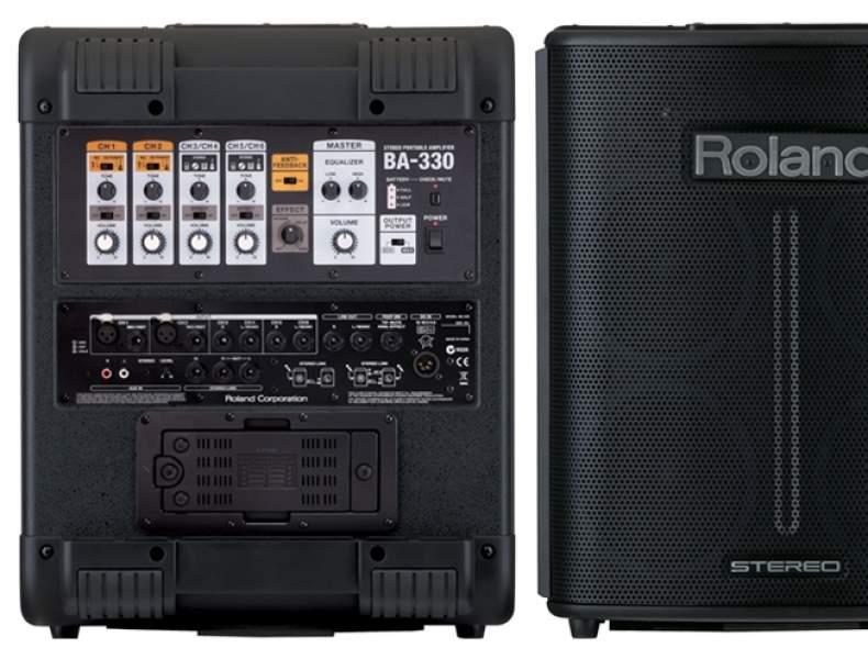 3056 Roland BA330 Verstärker Musikanlage