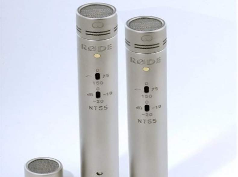 3057 Rode NT-55 Mikrofone, Stereo Set